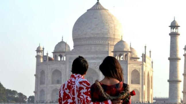 Honeymoon in Agra