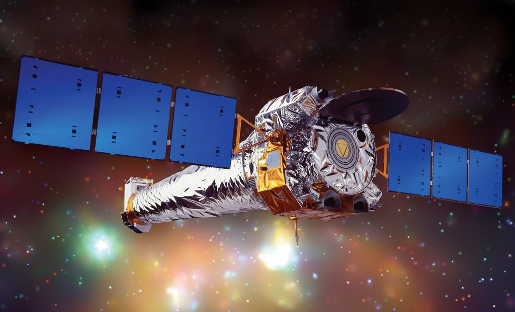 Chandra X-ray Observatory, Space