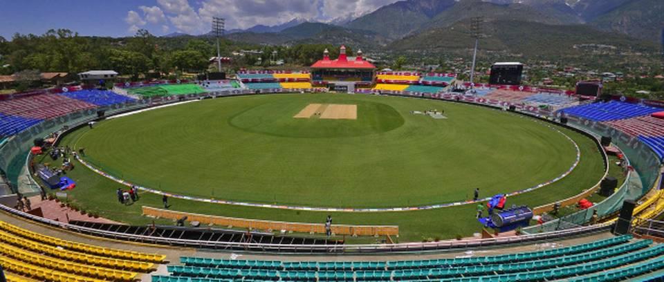 HPCA Stadium, Dharamshala, India. Capacity: 25,000 : Largest Cricket Grounds In the World