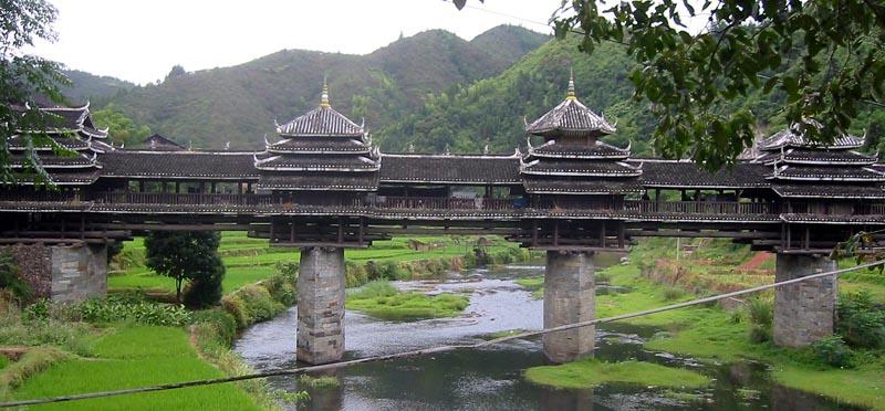 Chengyang Bridge, Guangxi, China