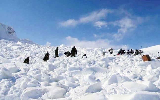 Siachen Glacier, Jammu and Kashmir