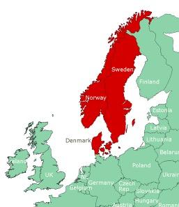 Scandinavian countries